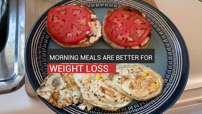 Morning Meals Are Better For Weight Loss