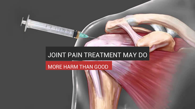 Joint Pain Treatment May Do More Harm Than Good