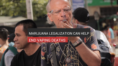 Marijuana Legalization Can Help End Vaping Deaths