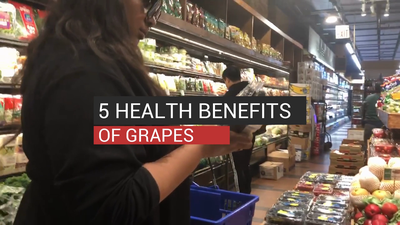 5 Health Benefits Of Grapes
