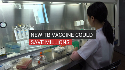 New TB Vaccine Could Save Millions
