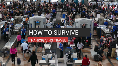 How To Survive Thanksgiving Travel