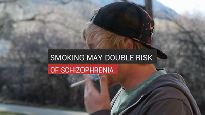 Smoking May Double Risk Of Schizophrenia