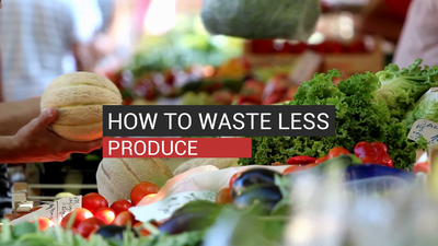 How To Waste Less Produce