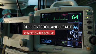 Cholesterol And Heart Attacks On The Decline