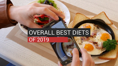 Overall Best Diets of 2019
