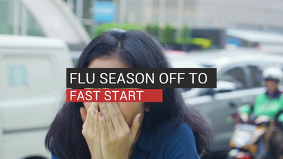 Flu Season Off To Fast Start