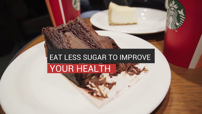 Eat Less Sugar To Improve Your Health