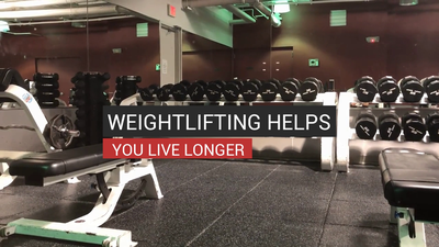 Weightlifting Helps You Live Longer
