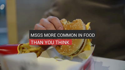 MSGs More Common In Food Than You Think