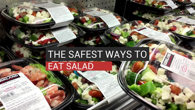 The Safest Ways To Eat Salad