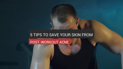 5 Tips To Save Your Skin From Post-Workout Acne