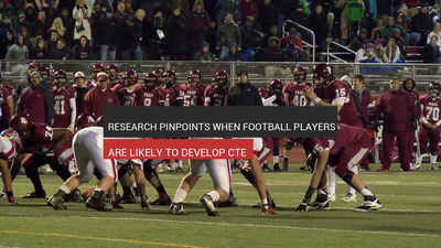 Football Players Are Likely To Develop CTE