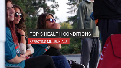 Top 5 Health Conditions Affecting Millennials