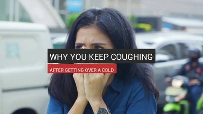 Why You Keep Coughing After Getting Over A Cold