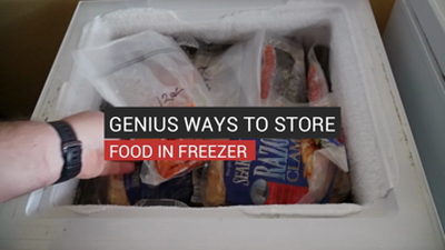 Genius Ways To Store Food In Freezer