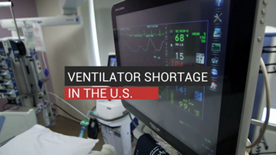 Ventilator Shortage In The U.S._Digital