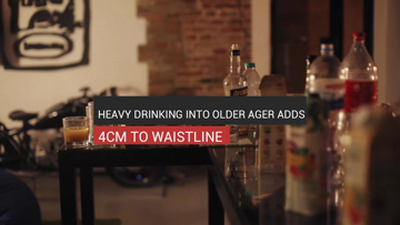 Heavy Drinking Into Older Ager Adds 4cm To Waist