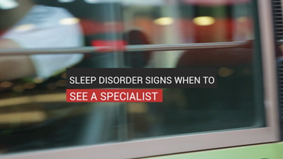 Sleep Disorder Signs When To See A Specialist