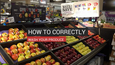 How to Properly Wash Produce