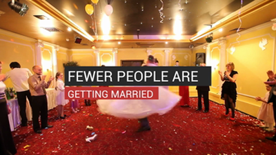 Fewer People Are Getting Married