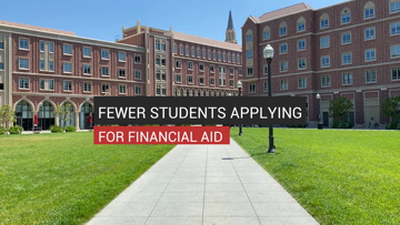 Fewer Students Applying For Financial Aid