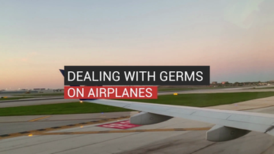 Dealing with Germs On Airplanes
