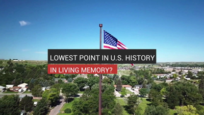 Lowest Point in U.S. History in Living Memory?