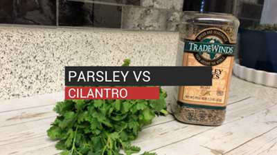 Parsley vs Cilantro