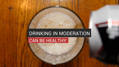Drinking in Moderation Can Be Healthy