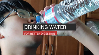 Drinking Water For Better Digestion