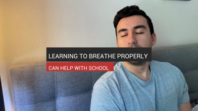 Learning to Breathe Properly Can Help With School