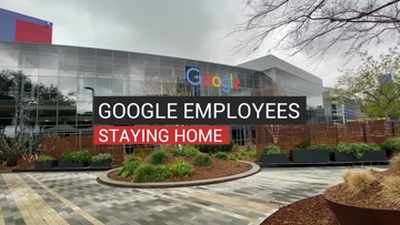 Google Employees Staying Home