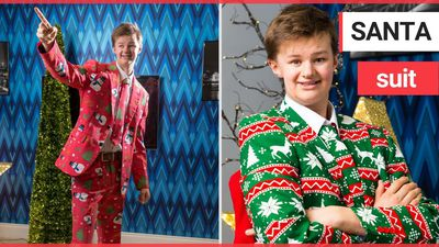 "A sixth-form pupil is devastated after his Christmas suits were BANNED by his ""Grinch"" teachers who"