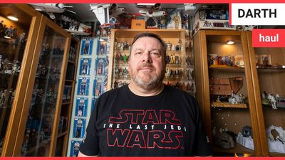 Star Wars fanatic has amassed a remarkable 5,000 strong collection of memorabilia since falling in l