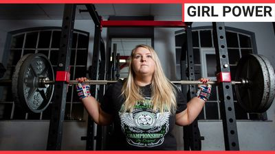 """A self-confessed """"unlikely athlete"""" becomes powerlifting champion in just one year"""