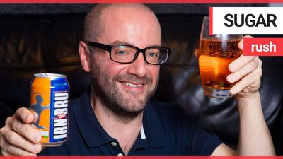 An Irn Bru fan told of his delight at finding an out-of-date can