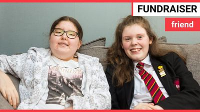 Girl fundraises £300k to save best friends life