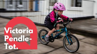 Two year old biked 45 miles - one for every minute her sister lived