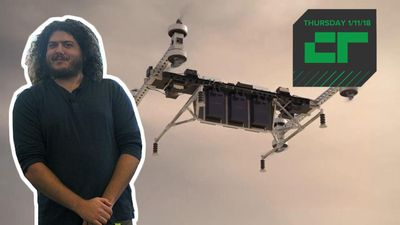 Crunch Report - Boeing Prototype Drone Can Carry 500 Pounds