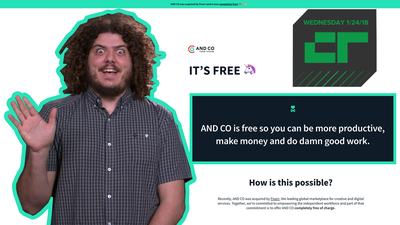 Crunch Report - Fiverr acquires And Co