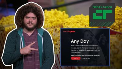 Crunch Report - MoviePass pulls out of 10 AMC theaters