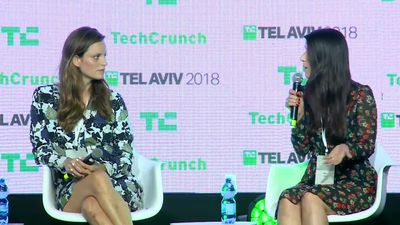 The Seed Scene with Shelly Hod Moyal (iAngels), Mor Assia (iAngels) at TC TLV 2018.