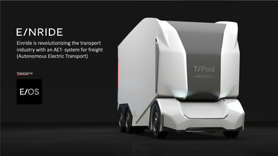 Einride autonomous electric freight transportation