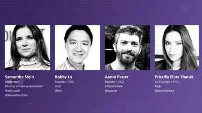 Beyond Startup Battlefield with Bobby Lo (Vurb), Aaron Patzer (Vital Software) and Priscilla Elora S