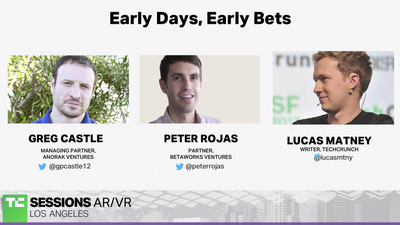 Early Days, Early Bets with Greg Castle (Anorak Ventures) and Peter Rojas (Betaworks) | TC Sessions