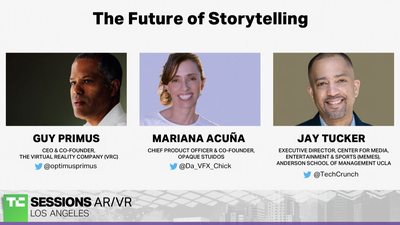 The Future of Storytelling with Mariana Acuna (Opaque Studios), Guy Primus (Virtual Reality Company)