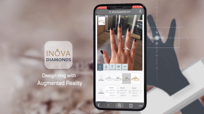 Inova Diamonds LTD offers AR for diamond shopping online