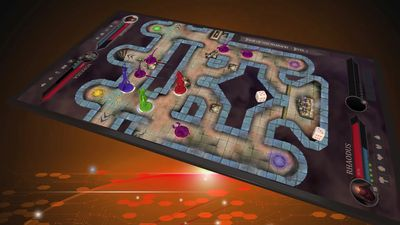 Smartboard is a universal board game console