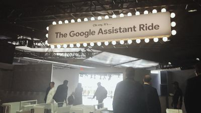 Google built an entire theme park ride in the CES parking lot - because they can